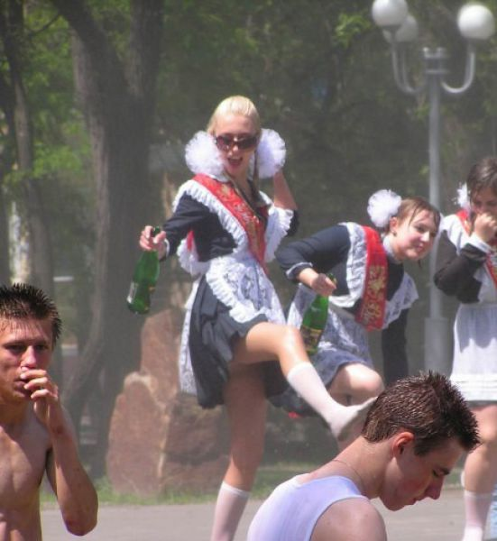 What Russian High School Graduates Actually Look Like