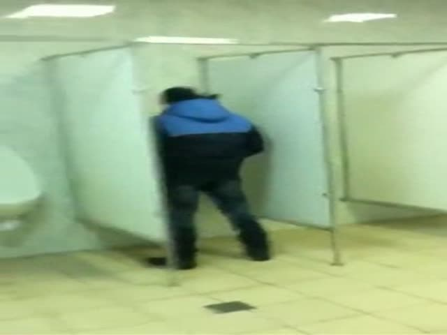 Toilet Gymnastics Fail