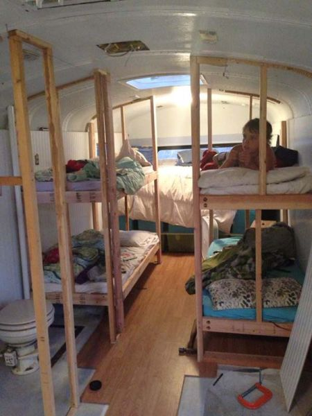 Imagine Living on a School Bus Like This