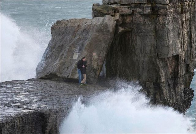 These Waves Don't Scare Me!