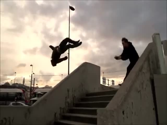 A Beautiful Video of Parkour and Freerunning