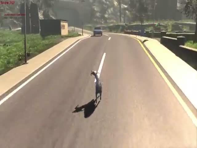 Goat Simulator 2014