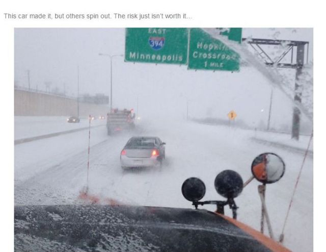 A Day in the Life of a US Snowplow Driver