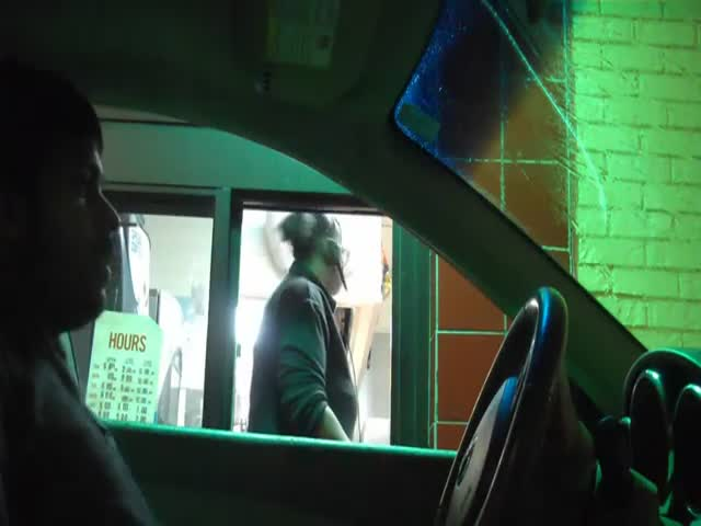Drive-Thru Hearing Names Prank  (VIDEO)