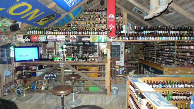 An Incredible Beer Bottle Collection