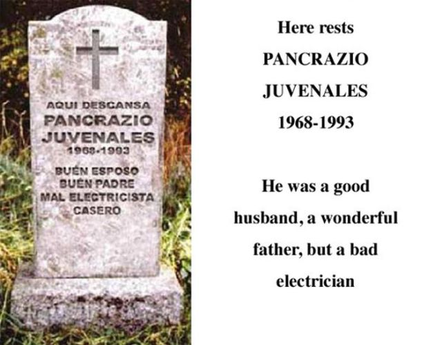 Tombstones That Are Less Gloom and Doom