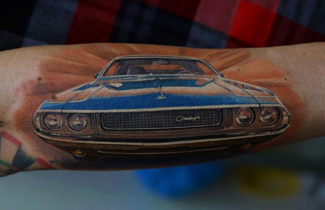 Creative and Hyperrealist Tattoo Art