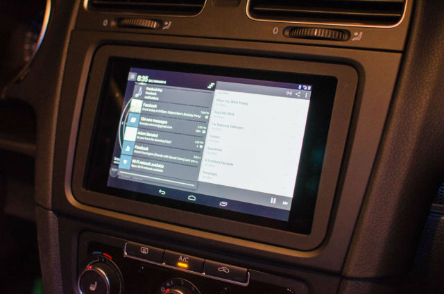 A DIY Dashboard Modification Using an Android Tablet