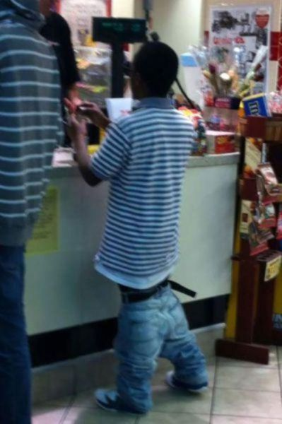 Pull Your Pants Up Man