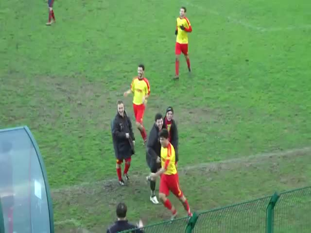 Goal Celebration Fail  (VIDEO)
