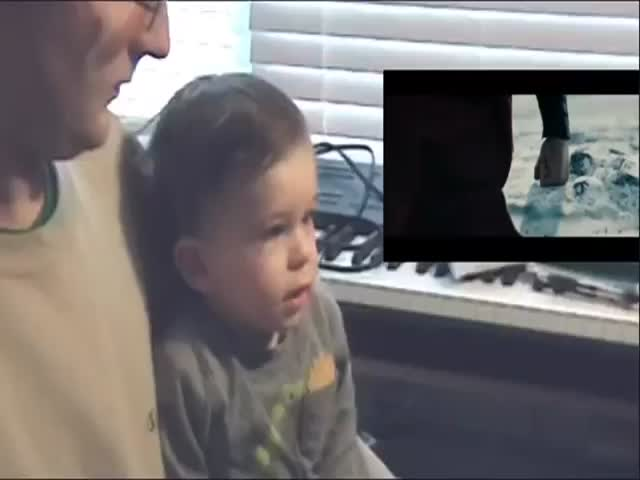Little Boy's Reaction to Superman Flying in 'Man of Steel'