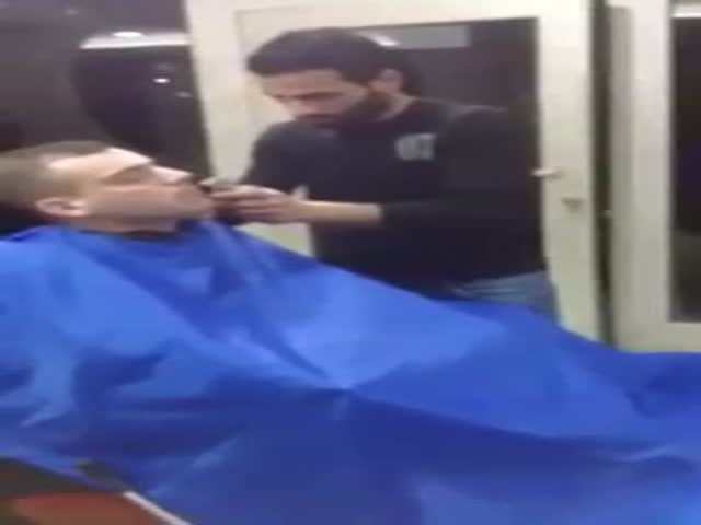 Never Play with Yourself at the Barbershop  (VIDEO)