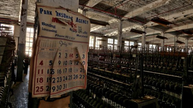 A Neglected Silk Mill Stands Empty for Years