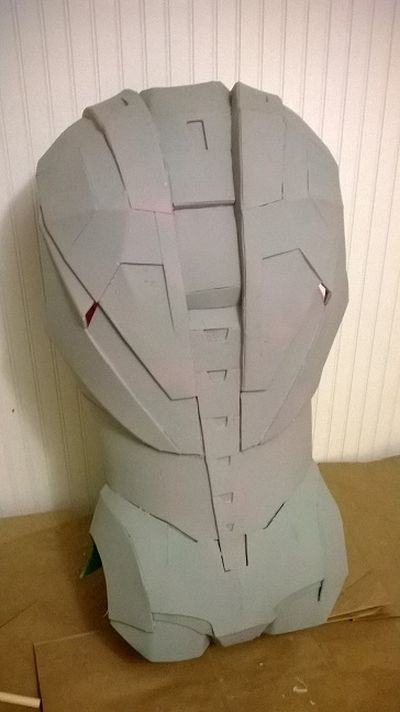 An Awesome Selfmade Iron Man Costume
