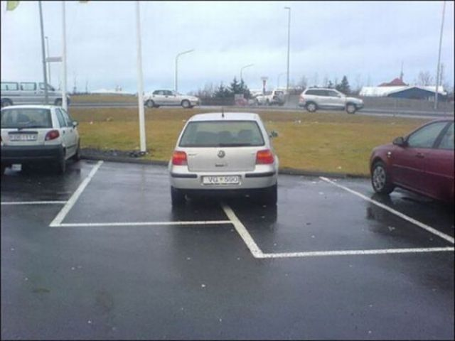 People That Are Shockingly Awful at Parking