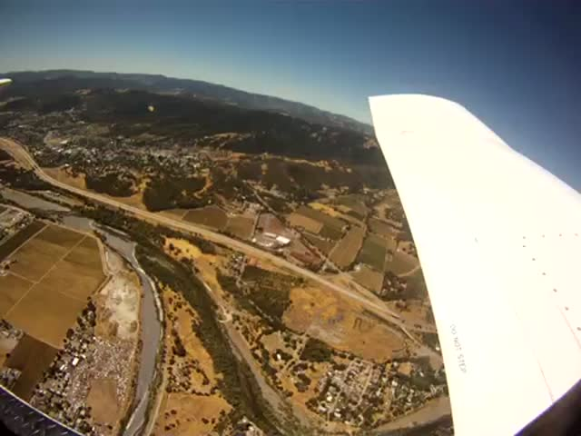 GoPro Camera Falls from Skydiving Plane, Lands in Pig Pen...