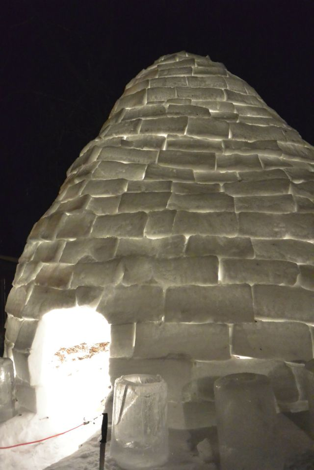 Fun Homebuilt Giant Igloo