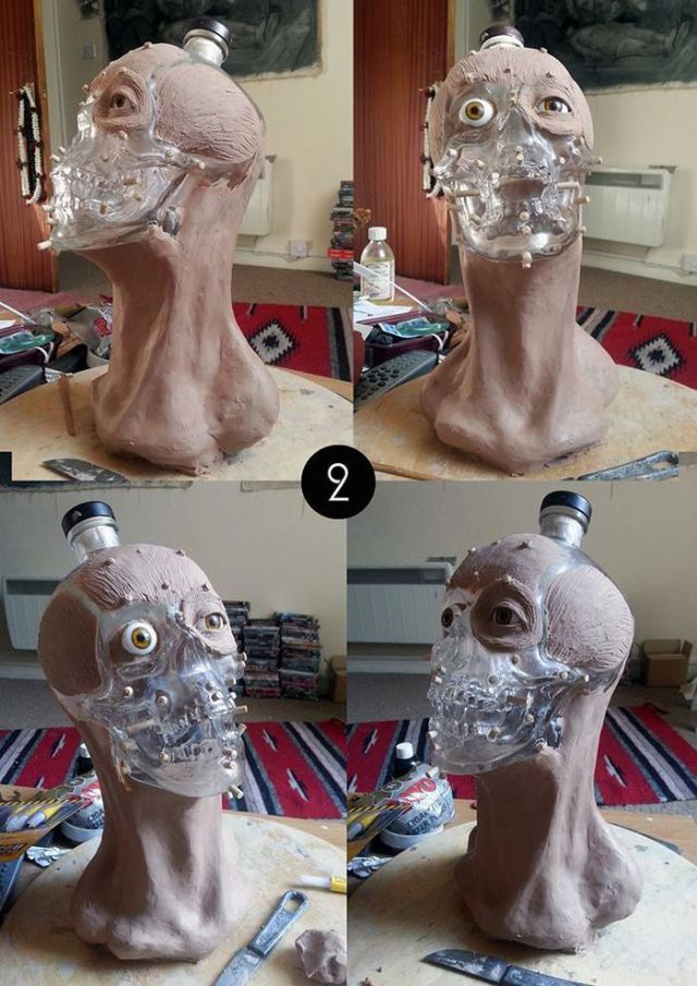 How the Crystal Head Vodka Bottle Is Made