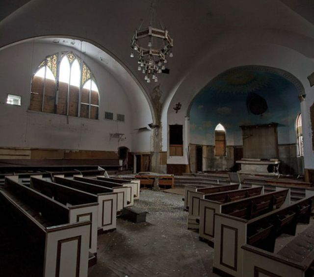 Inside Detroit Churches That Have Been Neglected