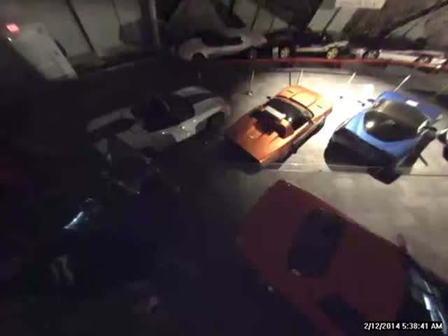 8 Corvettes Swallowed by Sinkhole in Museum  (VIDEO)