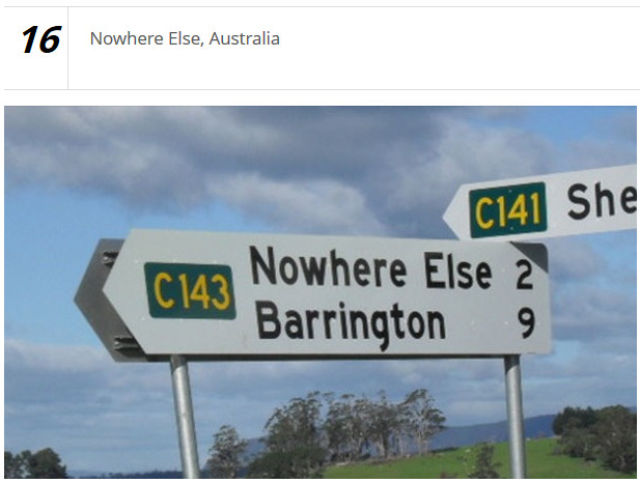 Outrageously Strange City Names That Are Actually Real