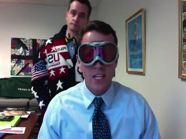 How the Head of School and His Assistant Announced a Snow Day  (VIDEO)