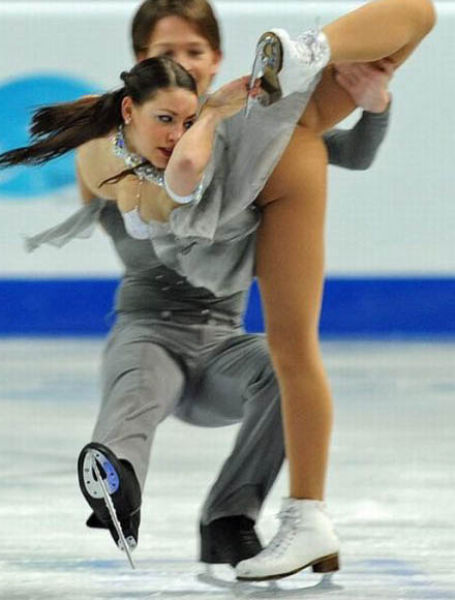 Odd Figure Skating Fails That Are Semi-Sexy
