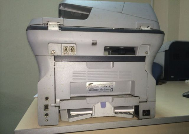 A Gross Printer Infestation