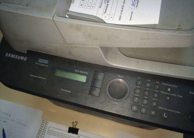 A Gross Printer Infestation