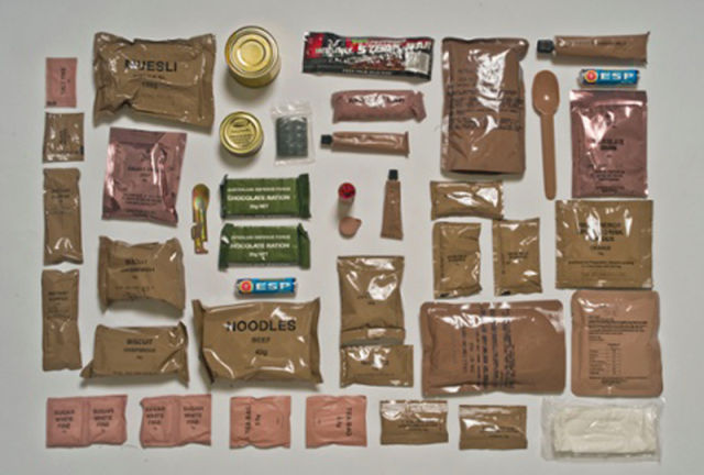 Army Food from around the World