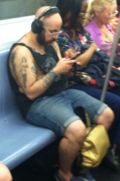 Subway Fashion Is the Best of the Best and the Worst