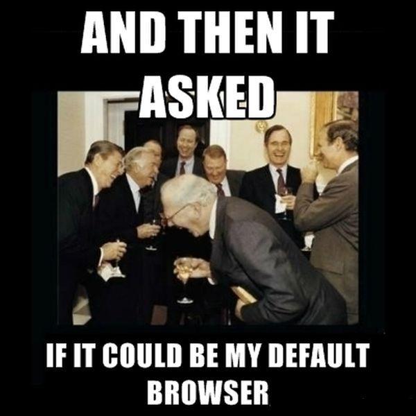 The Good Old Faithful Internet Explorer