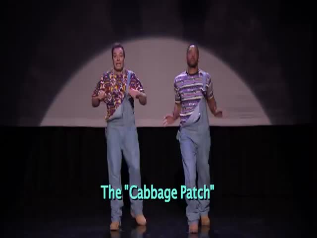 Evolution of Hip Hop Dancing with Will Smith and Jimmy Fallon  (VIDEO)