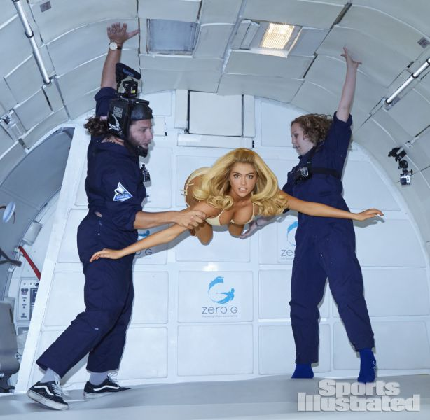Kate Upton and Zero Gravity Is a Match Made in Heaven