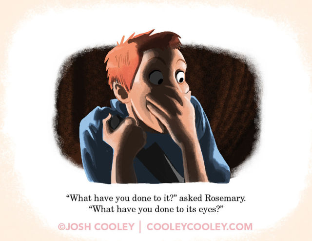 R-Rated Film Scenes Drawn in Pixar Animation Style