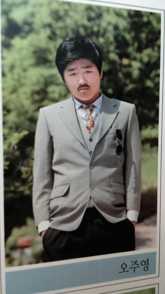 WTF Is Up with Korean Yearbook Photos?