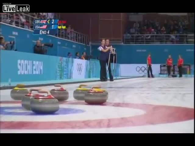 Sir David Attenborough Narrates Women's Olympic Curling