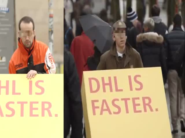 DHL Trolls Competitors through Sneaky Trojan Prank  (VIDEO)