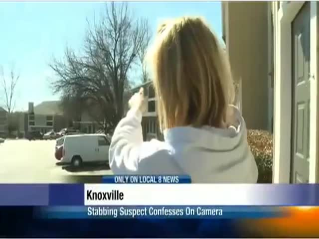 Woman Confesses to Stabbing Her Own Mother during News Report  (VIDEO)
