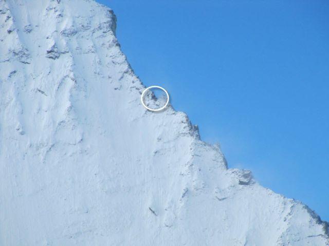 A Swiss  Mountain Hut on the Edge of the Matterhorn