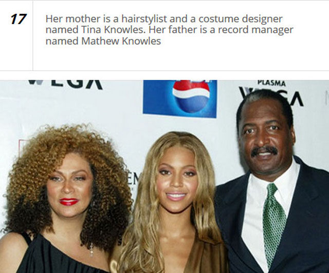 Fun Things You Might Not Know about Beyoncé