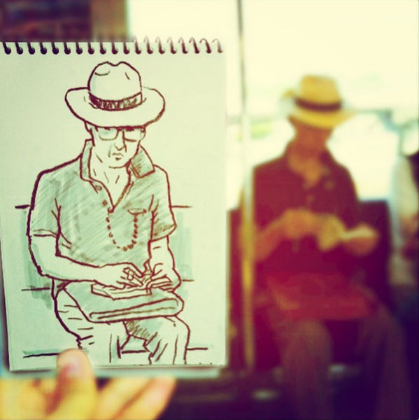 This Tokyo Illustrator Is a Wizard at Speed Sketches