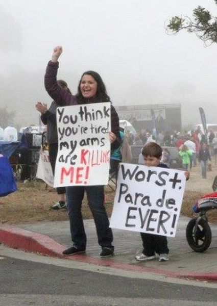 Humorous Spectator Signs That Are Pretty Clever