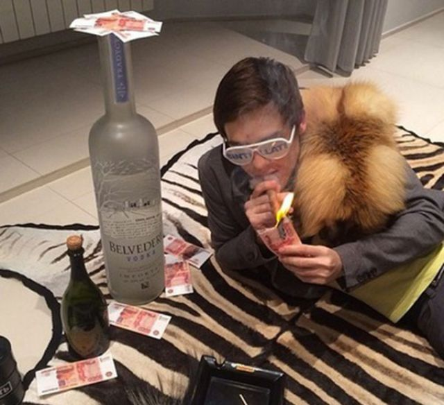 Spoiled Rich Kids Can't Help Boasting on Instagram