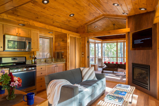 This Cute Forest Cabin Is the Perfect Hideaway