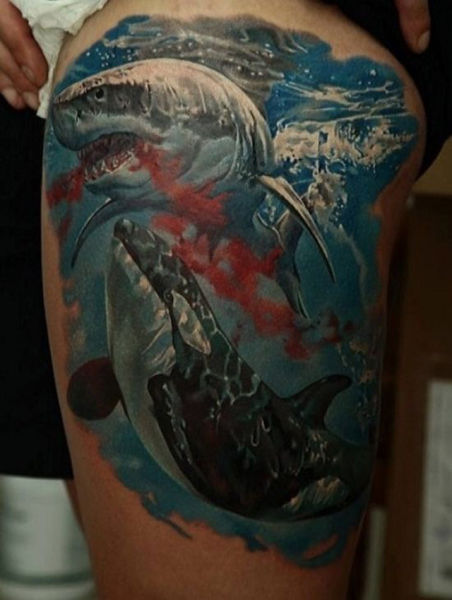 Tattoo Lovers Gather around for Epic Body Art
