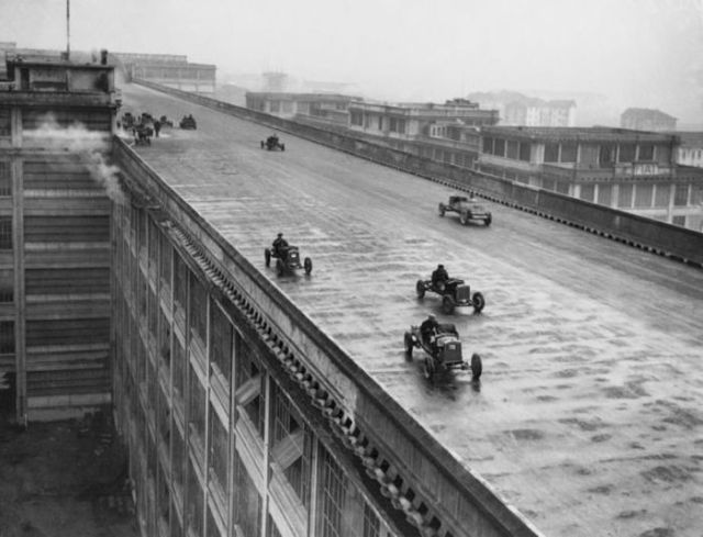 Italian Rooftop Racetrack from Back in the Day