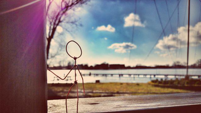 "A little ""Wire man"" journeys!"
