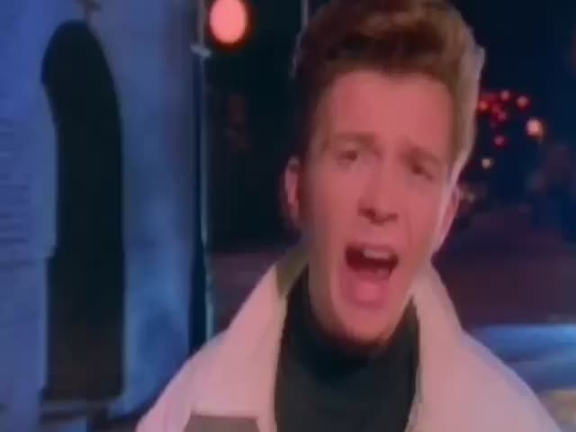 Rick Astley Makes His Comeback in a Great Mashup  (VIDEO)
