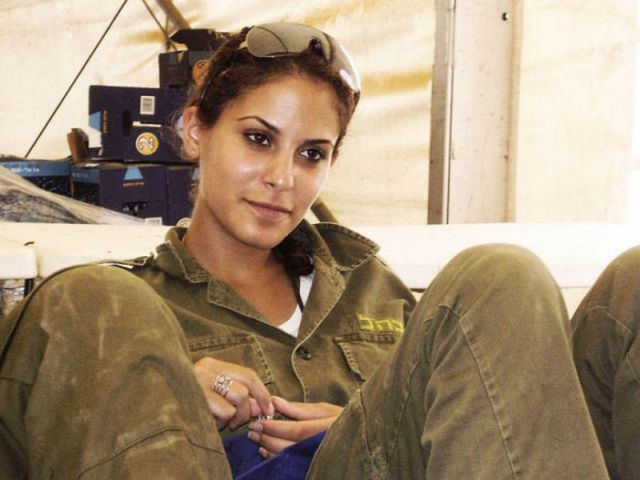 Some of the Hot Israeli Girls in Arms